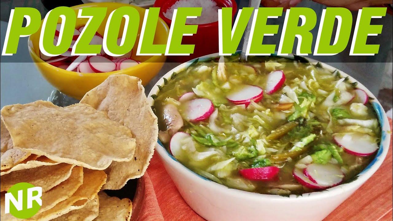 how to make pozole verde de pollo