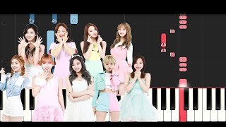 Twice - What Is Love? (Piano Tutorial)
