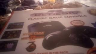 SEGA GENESIS - classic game console 25th Sonic The Hedgehog (Unboxing)