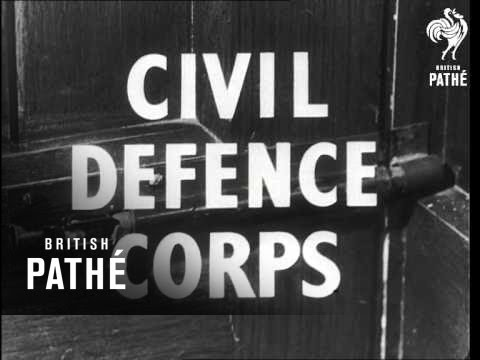 Civil Defence Corps - Trailer (1950)