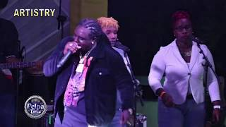 vuclip JAH VINCI cry for his brother that passed away / jah Vinci respect Vybz kartel AT Hennessy Aritistry
