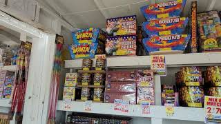 tnt firework stand shopping trip with coupons huge purchase