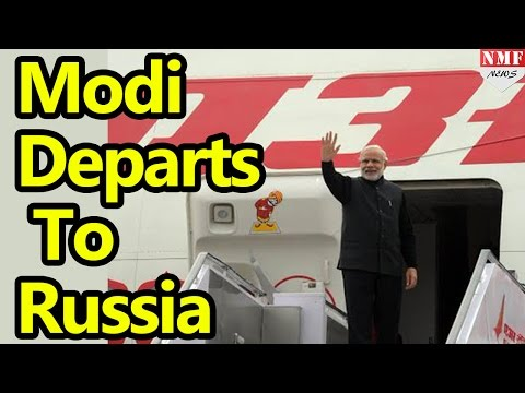LIVE: Narendra Modi Departs From New Delhi To Moscow, Russia