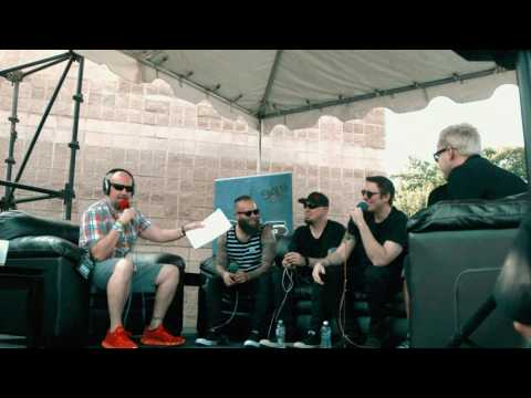 Rod Ryan Talks with Breaking Benjamin at Buzzfest