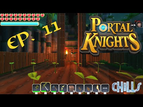 "Portal Knights Ep. 11 ""New Tree Farm / Garden and New building almost done!"" Early Access"