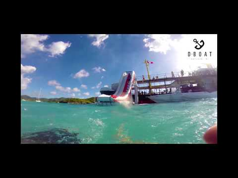 D-Boat Antigua - Water Slide