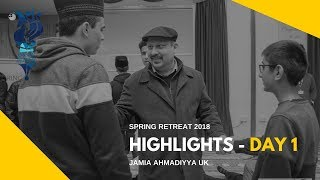 MKA NEWS - Jamia Spring Retreat 2018 - Day 1 Highlights
