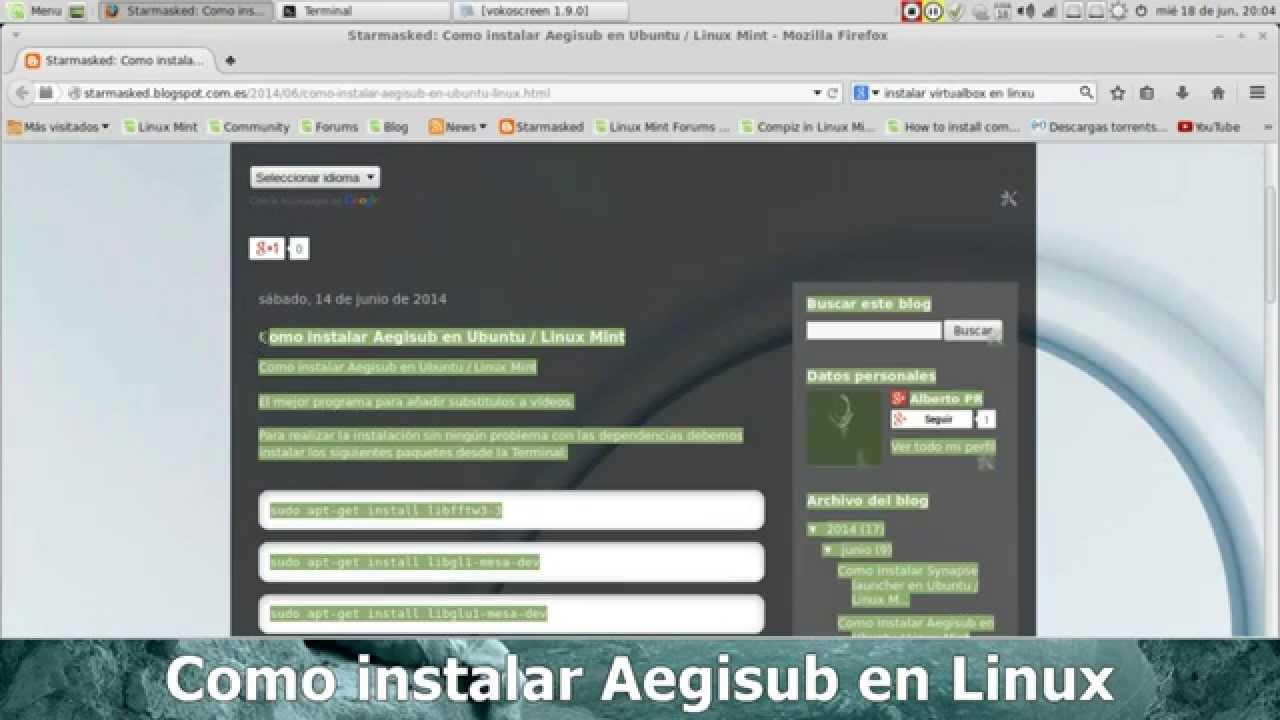 Aegisub, el mejor programa para añadir substitulos a vídeos en Linux