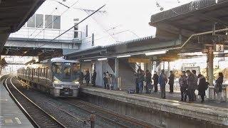 JR西日本 225系0番台+223系2000番台 普通 姫路行き 膳所駅 2019021
