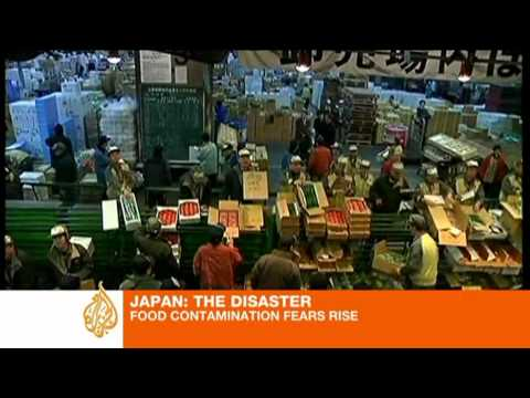 Japan food contamination fears rise