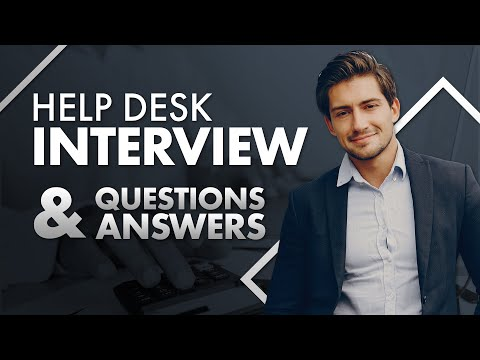 Top 5 Help Desk Analyst Job Interview Questions and Answers