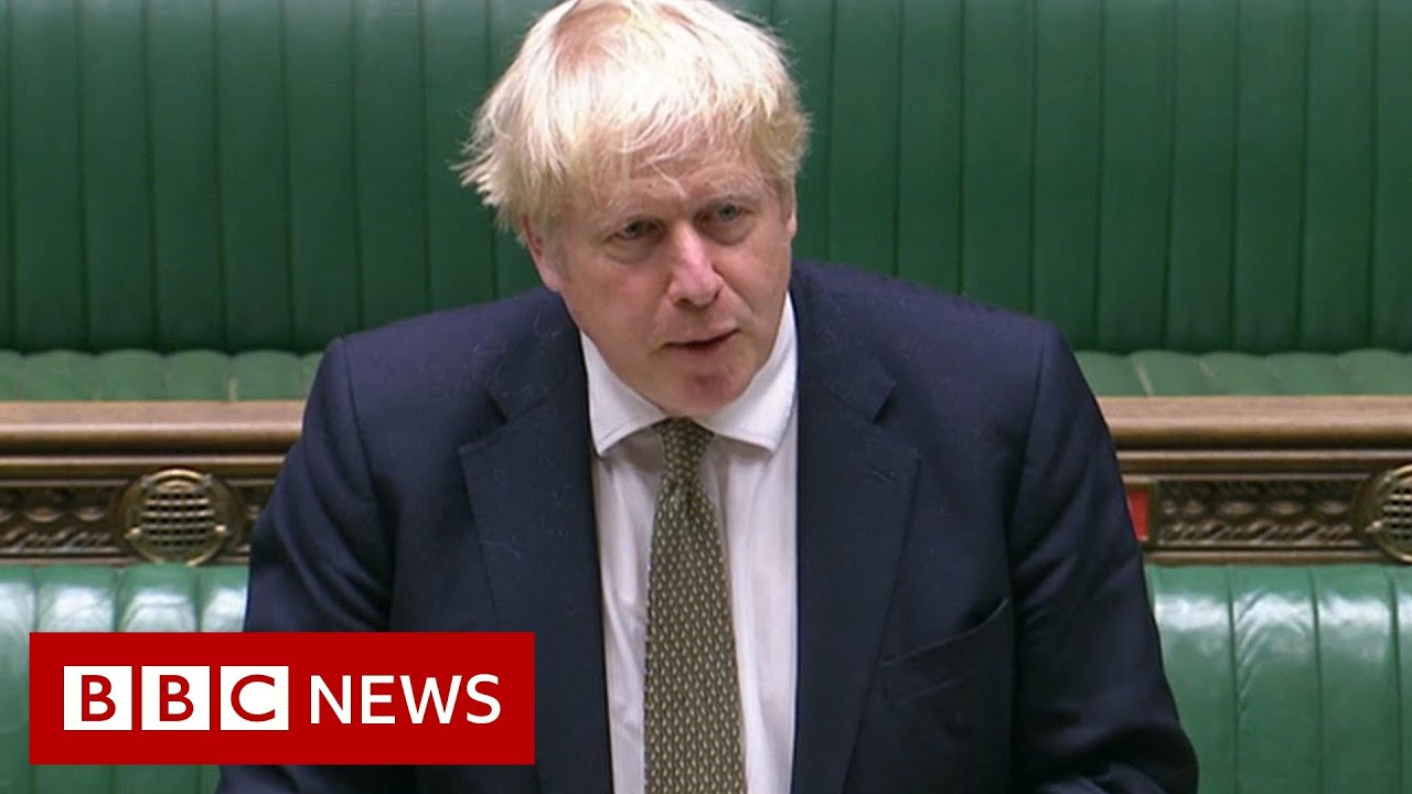 Johnson details three-tier Covid rules for England - BBC News