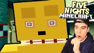 NICHT ERSCHRECKEN !!! 🔪 FIVE NIGHTS in MINECRAFT