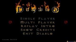 Diablo gameplay (PC Game, 1996)