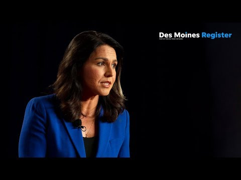 Full video: Tulsi Gabbard | AARP/Des Moines Register forums (8/17) (7.17.19)