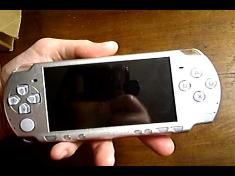 Hacking A PSP With A Pandora Battery.