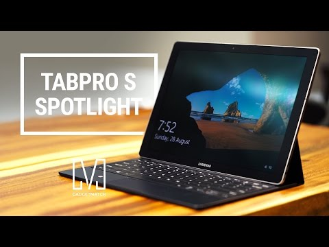Samsung Galaxy TabPro S Unboxing And Hands On