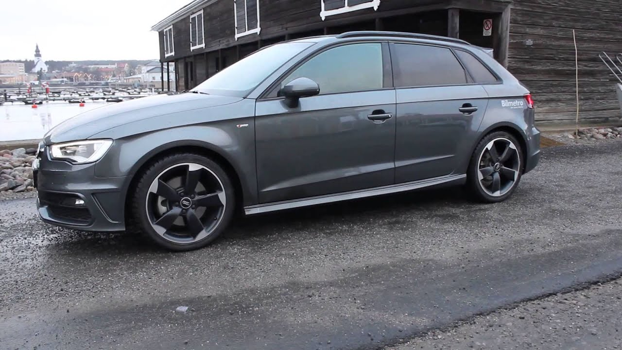 2014 audi a3 tdi quattro s tronic sport 184 ps in detail launch walkaround flyby youtube. Black Bedroom Furniture Sets. Home Design Ideas