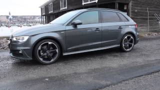 2014 Audi A3 TDI quattro S-tronic Sport 184 PS (in detail ,launch ,walkaround, flyby)