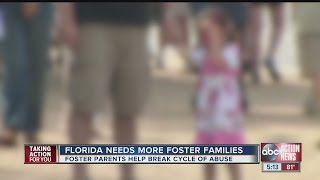 Need for foster parents grows as drug use continues in Tampa Bay