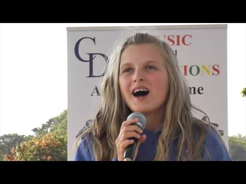 CD Music Academy Outdoor Show In Coronation Park Ormskirk