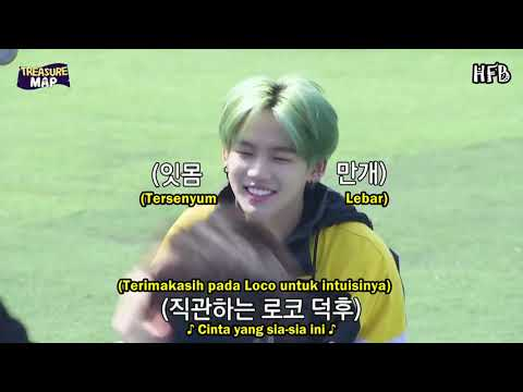 [SUB INDO] TREASURE MAP EP 16 - EDISI ISAC MANDIRI