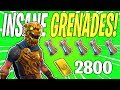 INSANE 7 Grenade Soldier Hero! Battle Hound Jonesy Grenade Build | Fortnite Save The World