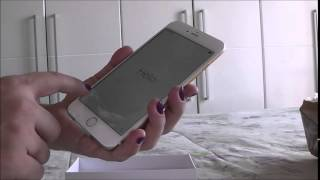 Chegou meu iPhone 6 Plus Gold (Dourado)