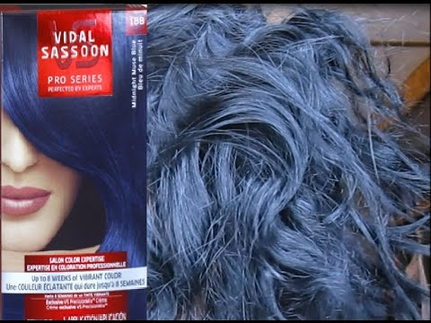 Vidal Sassoon Midnight Muse Blue review