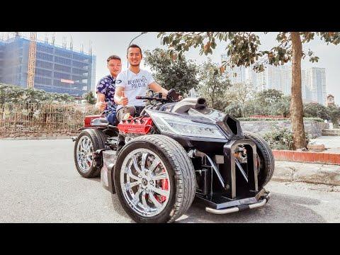 Kichmen 1h – Chiếc xe độc nhất tại Việt Nam