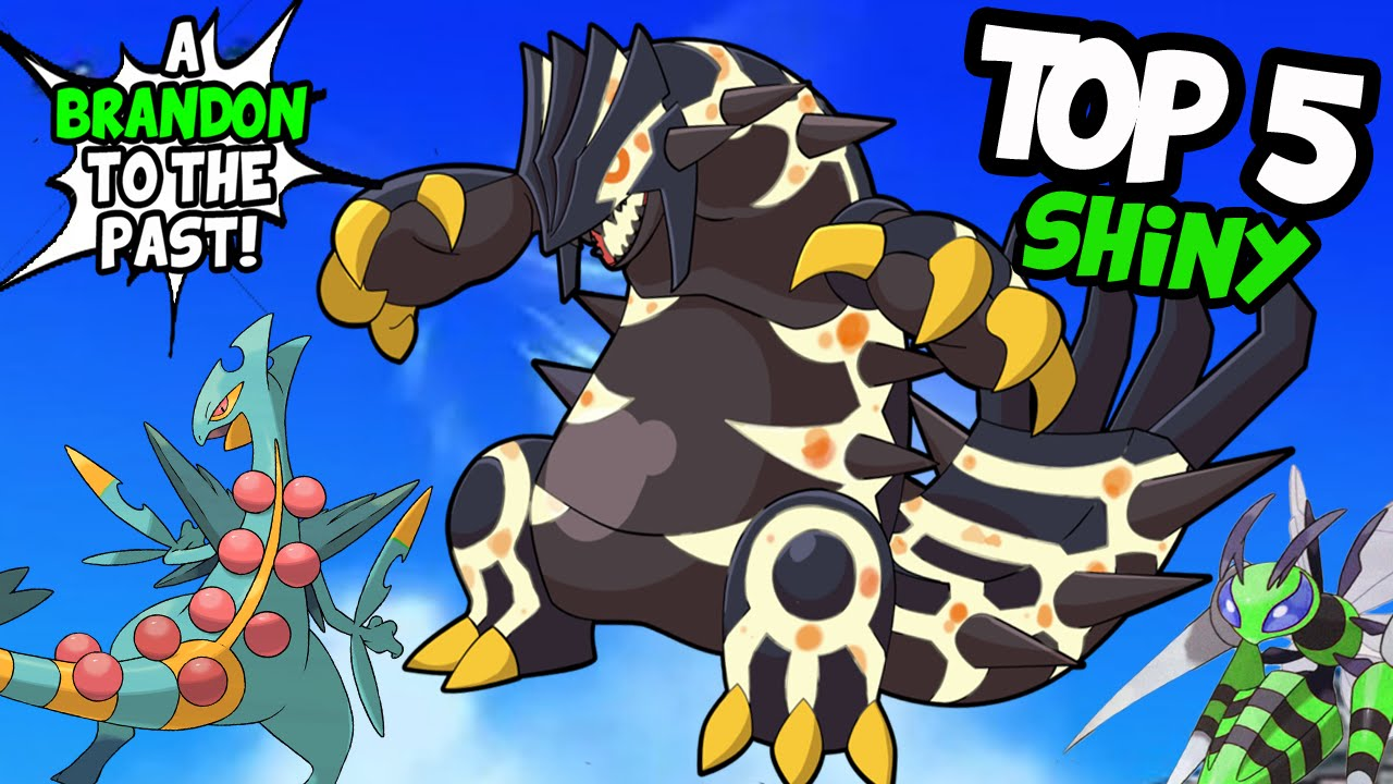 Top 5 Coolest Looking Shiny Pokemon In Omega Ruby and ...