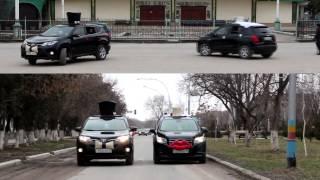 Машина Жених и невеста кентау