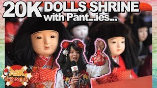 WHY THERE ARE USED PANTIES and DOLLS at a SHRINE in JAPAN|Truth about Awashima Shrine, Wakayama