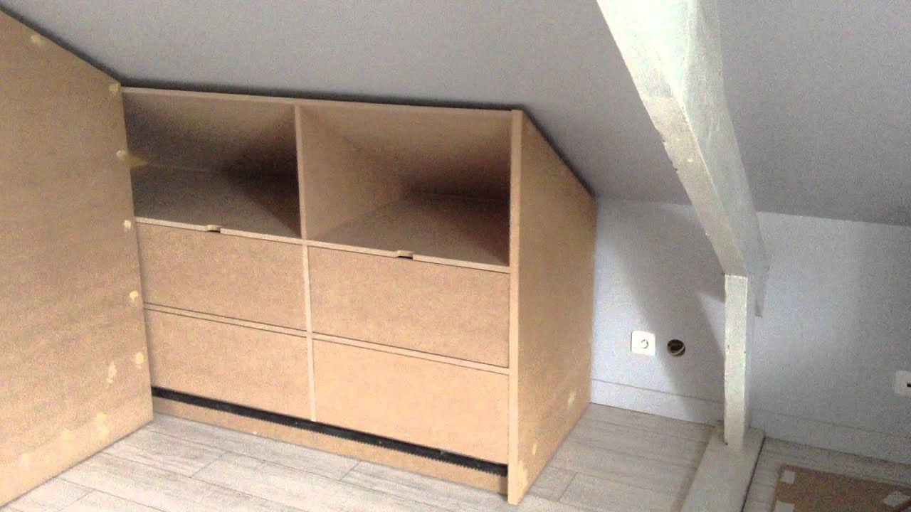 Rangement motoris youtube - Ikea dressing sous pente ...