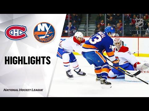NHL Highlights | Canadiens @ Islanders 3/3/20