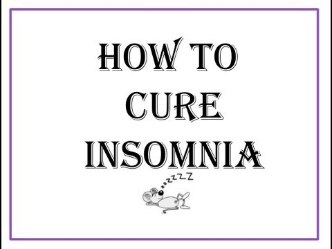 Insomnia and Anxiety, Natural sleep remedy? How to overcome Insomnia naturally without medication
