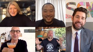SGN Potluck with Martha Stewart, Guy Fieri, David Chang, & Stanley Tucci (Ep. 5)