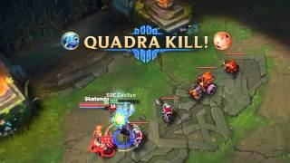 One For All (League Of Legends) Fizz Dobble Penta?