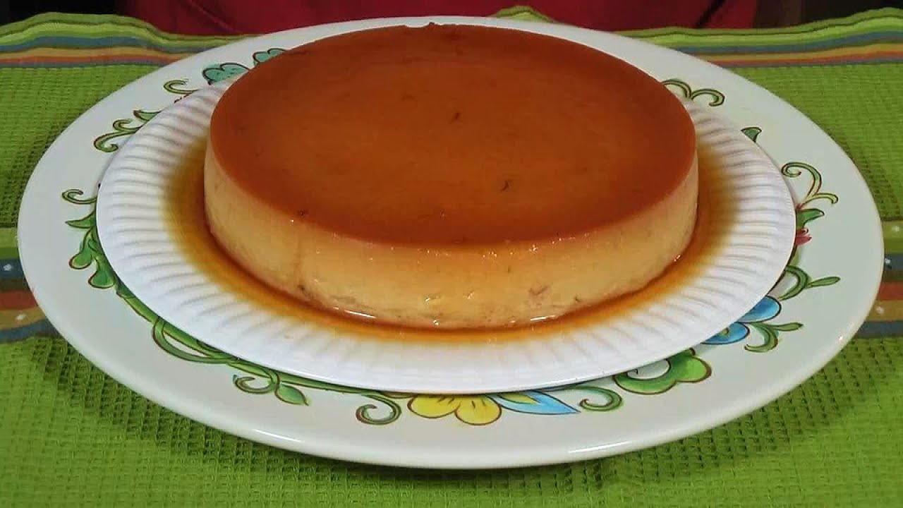 Nydia S Flan De Coco Coconut Flan Bilingual Video Youtube