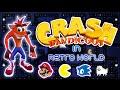 Crash Bandicoot in Retro World Fangame (FullGame)