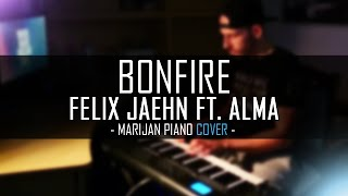 Felix Jaehn ft. ALMA - Bonfire | Piano Cover