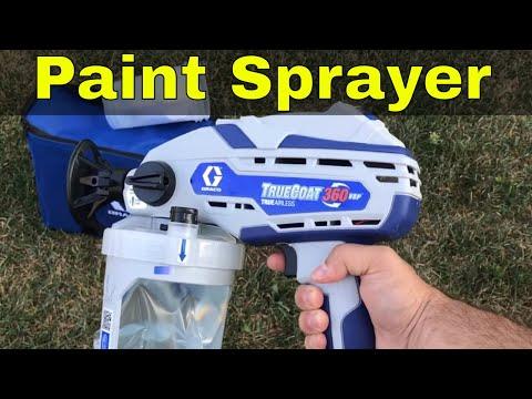 Graco TrueCoat 360 VSP Paint Sprayer Review