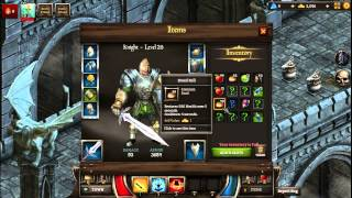 Kings Road Archer & Knight Gameplay