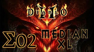 Imon Plays [Diablo II (Median XL Σ1.0.0)] #02 Bowazon Act 2-5