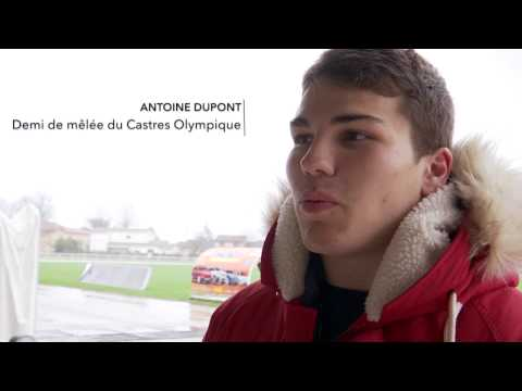 CASTRES OLYMPIQUE - ANTOINE DUPONT [EQUIPE DE FRANCE RUGBY]