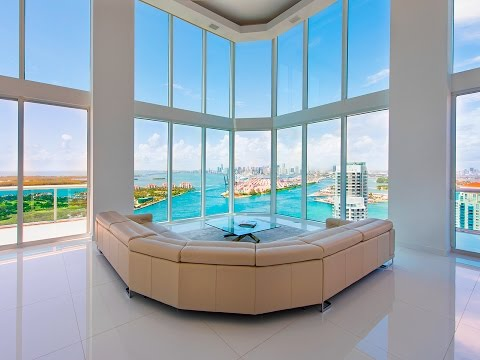 Portofino Tower - Miami Beach - Penthouse PH4003 - Condo for Sale by Brown Harris Stevens Miami