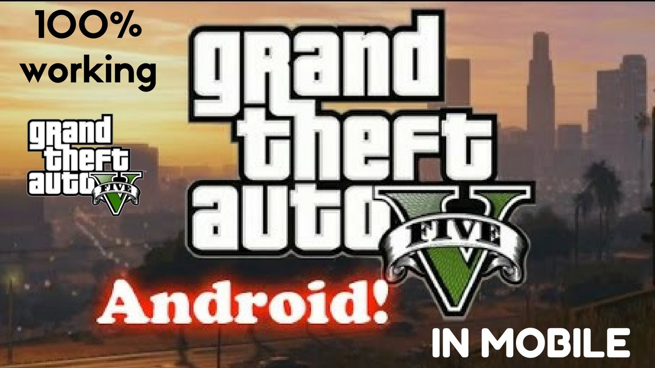 download game gta v android lite