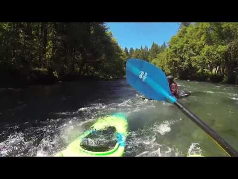 Mckenzie River Downriver Playboating *Bridge to Brukart*