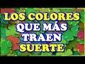 LOS COLORES DE LA SUERTE QUE TRAEN FORTUNA 🟢 ️ - YouTube