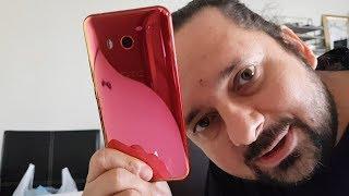 HTC U11 Solar Kırmızı Sonunda Geldi :)
